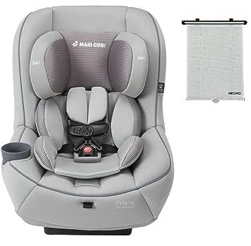2015 Maxi Cosi Pria 70 Convertible Car Seat Grey Gravel With BONUS Retractable Window