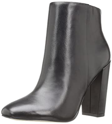 ALDO Womens Aravia Ankle Bootie       Black Leather