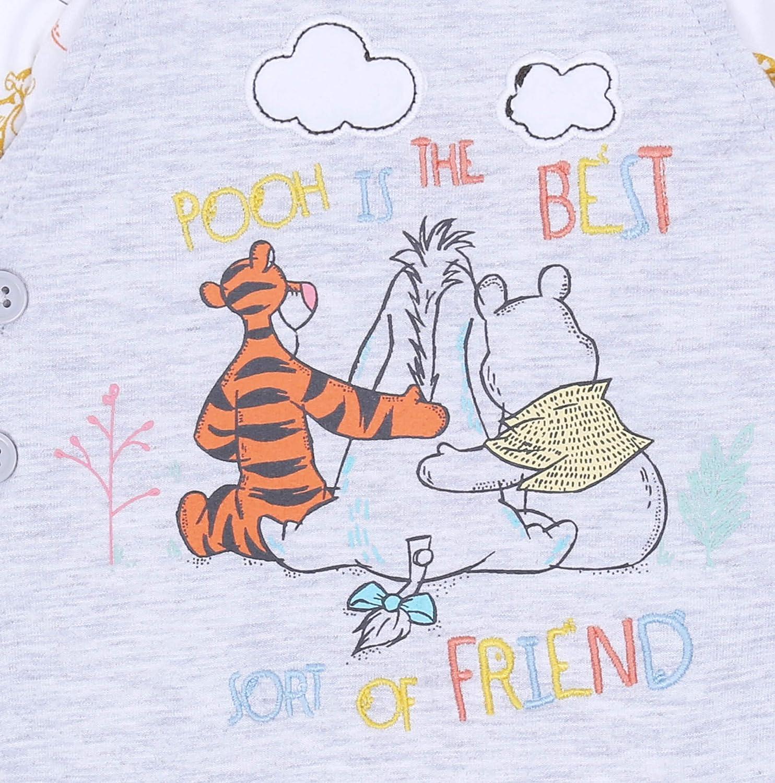 Body biancho-Grigio Winnie The Pooh Disney Pagliaccetto