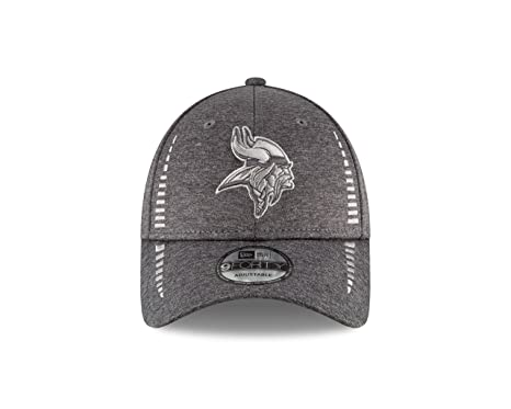 2cf9af9e Amazon.com : New Era Minnesota Vikings 9Forty NFL Graphite Shadow ...