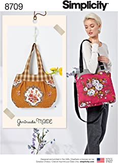 product image for Simplicity Women's Retro Handbag Sewing Patterns by Gertrude Made, One Size Only