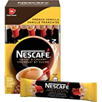 Nescafé Sweet and Creamy French Vanilla Sachets 18x22g (Pack of 6, 108 Cups)