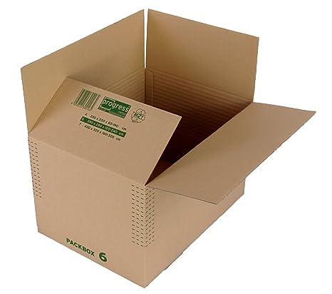 progressCARGO PC K13.06 - Caja de cartón, 390 x 280 x -240