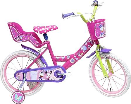 Bicicleta 16 pulgadas para 5-8 años de Minnie Mouse: Amazon.es ...