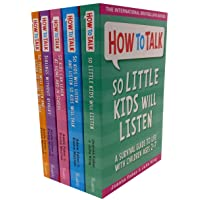 How To Talk Collection 5 Books Set (How to talk so Kids Will listen, How to talk...