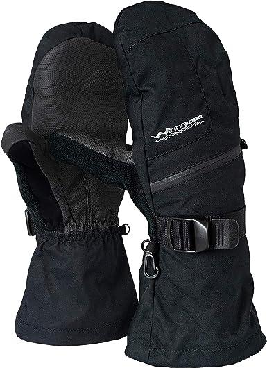 Snowboard Ski Ice Fishing Rugged Waterproof Winter Mittens Mittens Medium Weight Extra Long Gauntlets
