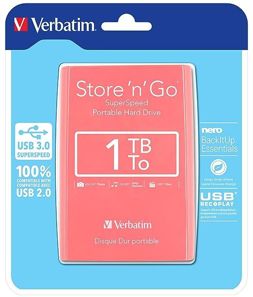 1085 opinioni per Verbatim 53173 Store 'N' GO HardDisk