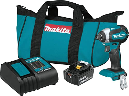 Makita XDT131 18V LXT Lithium-Ion Brushless Cordless Impact Driver Kit 3.0Ah