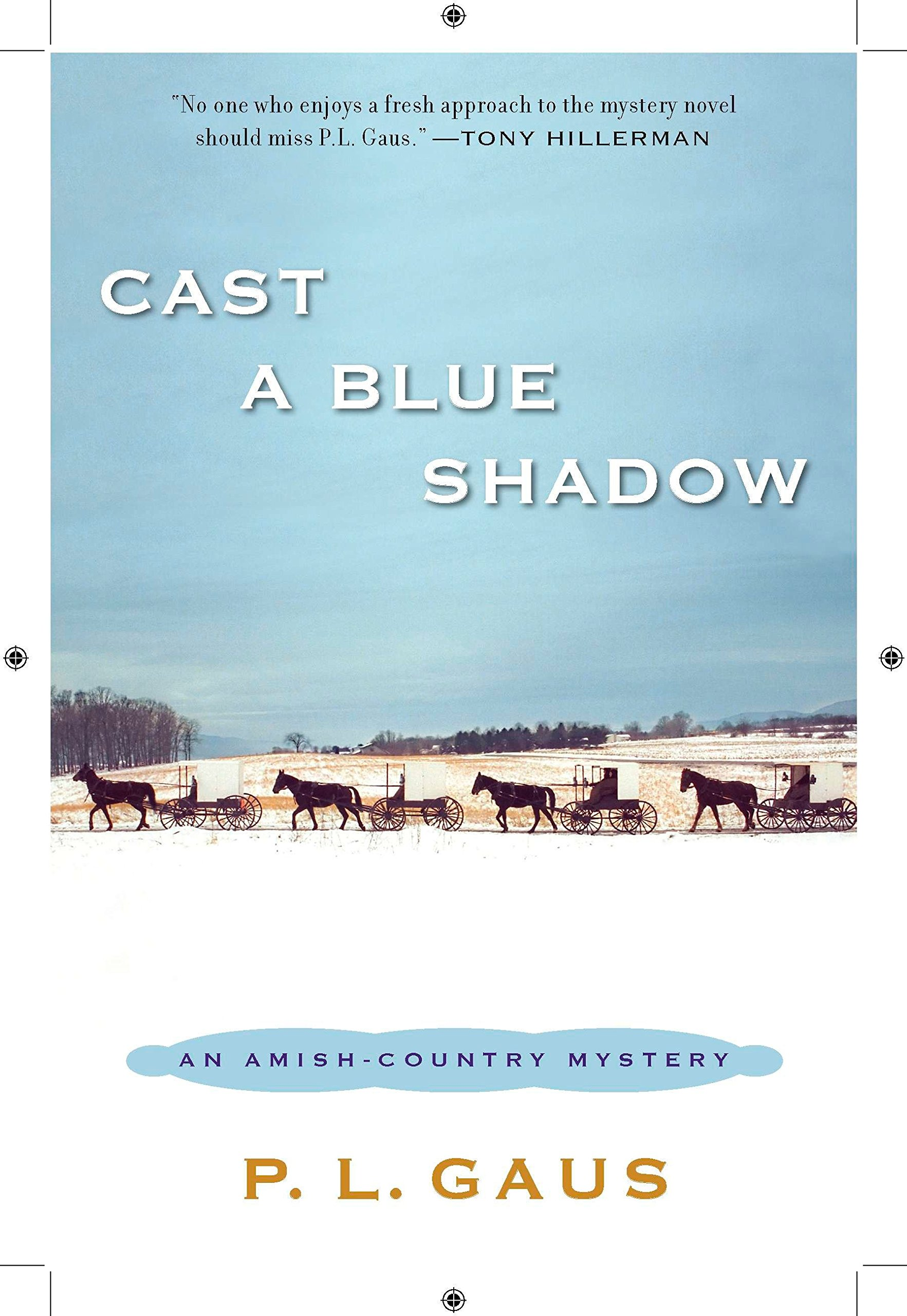 Cast a Blue Shadow: An Amish-Country Mystery pdf