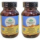 (2 PACK) - Organic India - Turmeric Formula | 60's | 2 PACK BUNDLE …