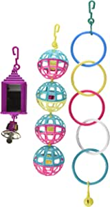 Living World Value Pack Assorted Bird Toys 3 Piece
