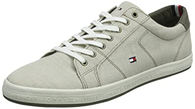 Tommy SneakerSneakers Hilfiger Denim Pique Basses Homme Essential P0Ok8Xnw