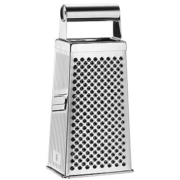Compra WMF Gourmet Rallador 4 usos, Acero Inoxidable Mate, 24 cm en Amazon.es