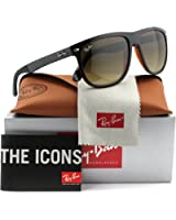Ray-Ban RB4147 Sunglasses Black w/Brown Gradient (6095/85) RB 4147 609585 60mm Authentic