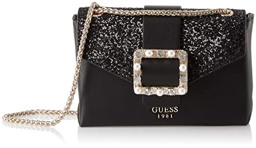46007a482e Guess Summer Night City, Women's Top-Handle Bag, Black (Black Bla ...
