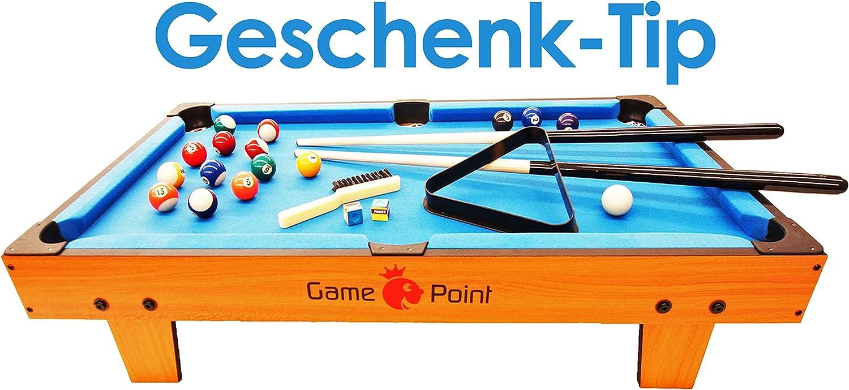 GamePoint - Mesa de billar (91 x 48 x 20 cm): Amazon.es: Deportes y aire libre