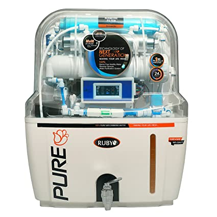 6708cdf38da Ruby RO with Auto Flush   Display Water Purifier  Amazon.in  Home   Kitchen