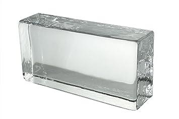Attrayant 1 X Brique De Verre Crystal Collection Clair Brillant