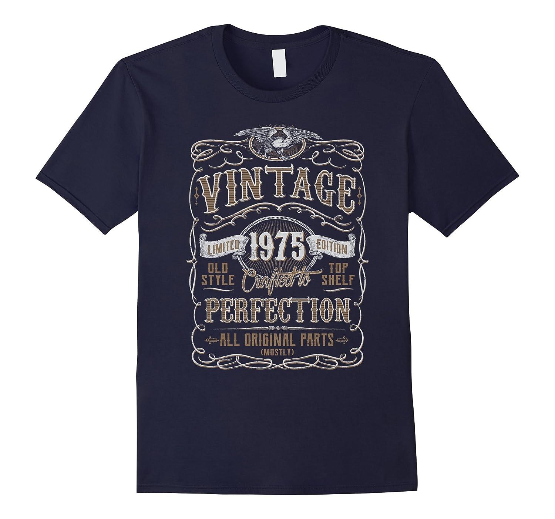 Vintage 1975 Birthday Gift Idea T Shirt-Vaci