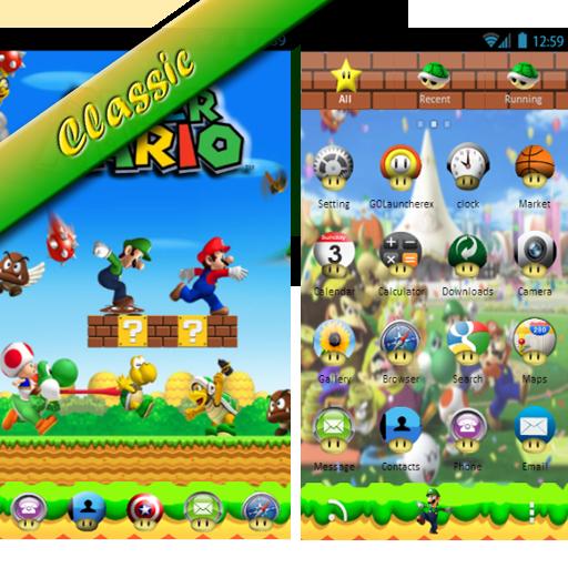 Game go launcher theme