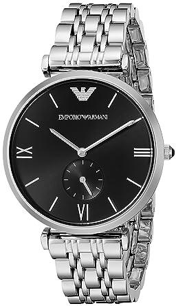 fa9fdbea77 Buy Emporio Armani Gianni T-Bar Analog Black Dial Men's Watch ...