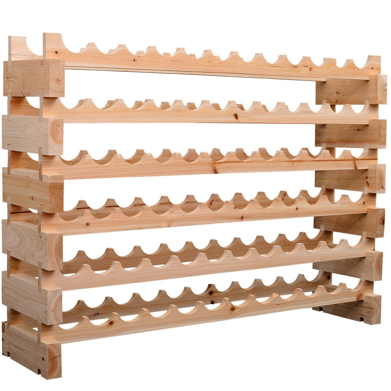 Tabletop wine racks canada delhutson designs reclaimed for Tabletop wine rack plans
