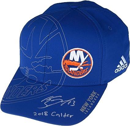 official photos 2bc78 aa837 Mathew Barzal New York Islanders Autographed Adidas On-Ice ...