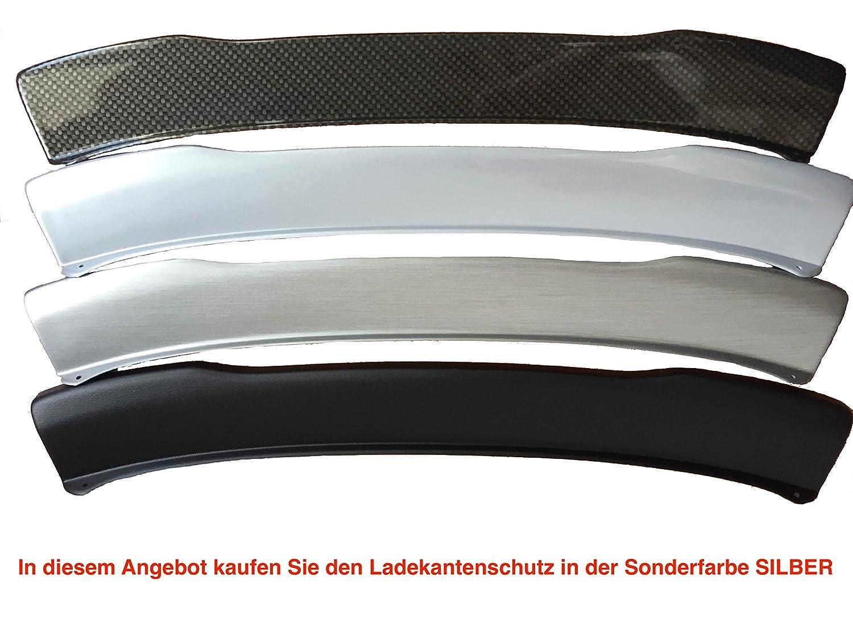 Aroba AR6592 voll Ladekantenschutz passgenau mit Abkantung ABS Sonderfarbe Silber