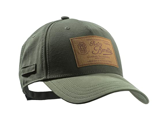 Beretta Gorra con Logotipo, Color Verde, tamaño Uni: Amazon.es ...