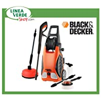 BLACK DECKER LIMPIADORA & PW 1700 SPM PLUS CON LAVAPAVIMENTI-130 BAR 1 7 KW;