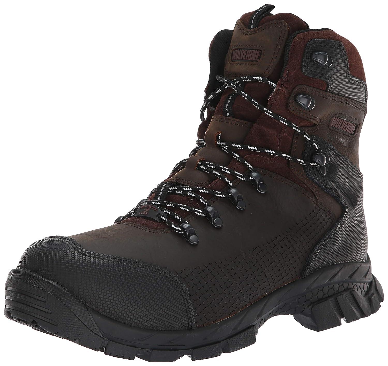 373fe6f4fb0 Wolverine Men's Glacier Xtreme 6'' Composite Toe Industrial Boot