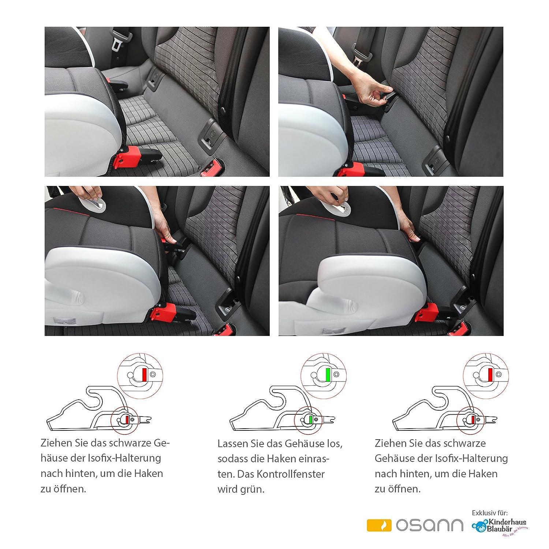 Osann Junior Isofix Shadow Sitzerhöhung mit Isofix 104-145-211