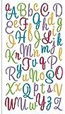 Sticko Sweetheart Multicolor Script Alphabet Sticker