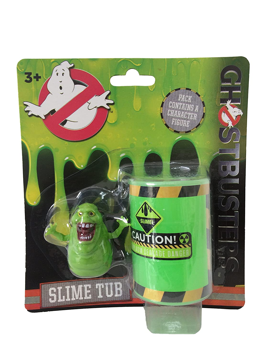 1x Ghostbusters Slime Tub With Toy (Stay Puft, Slimer or Logo) HGL SV12807