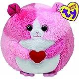 Beanie Ballz - Rosa/Meerschwein mit Herz 12 cm [Import allemand]