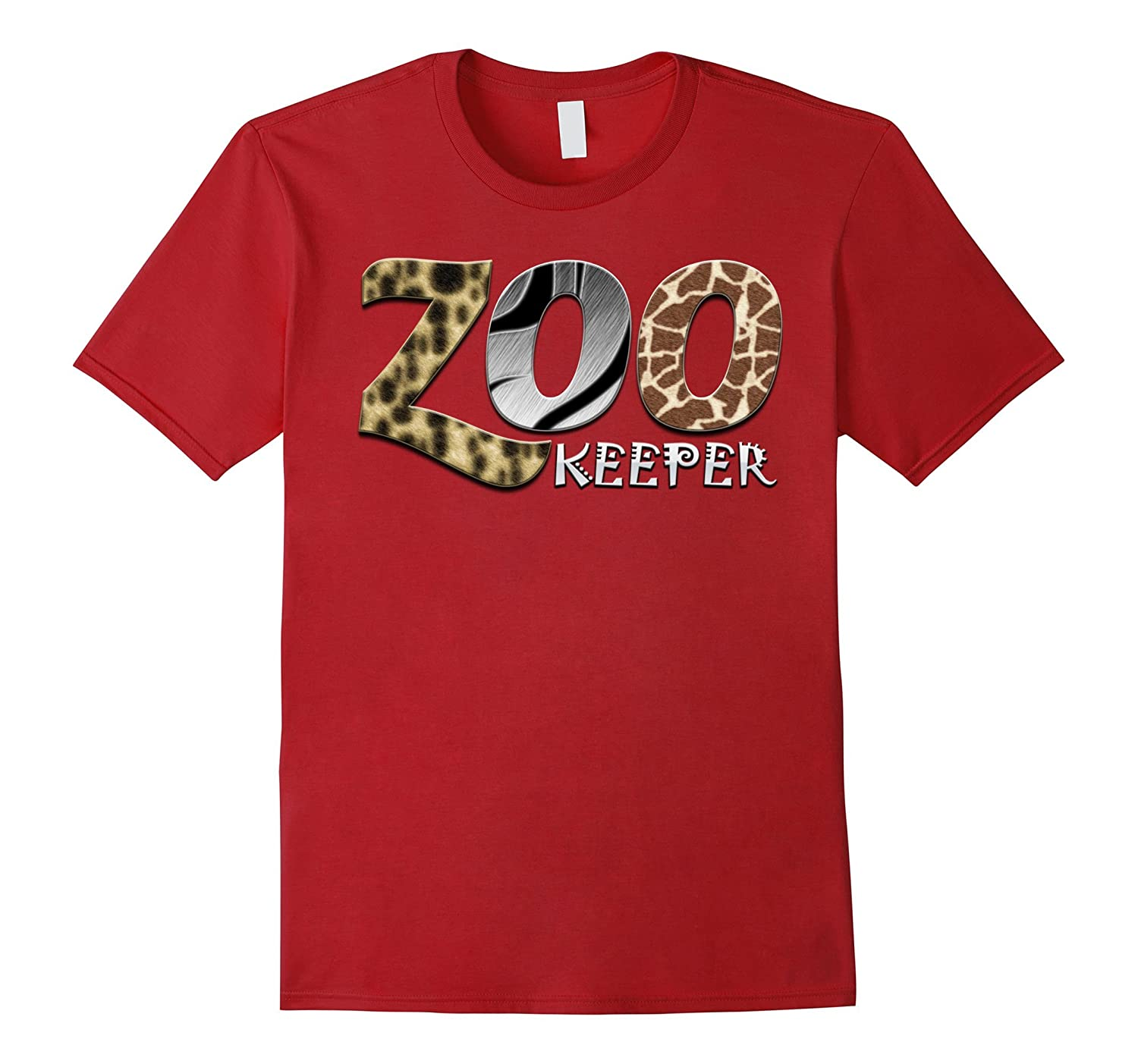 Zookeeper African Savanna Animal Print T-Shirt-ANZ