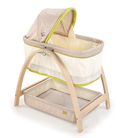Summer Infant Bentwood Bassinet With Motion, Baby Time (Discontinued By  Manufacturer)