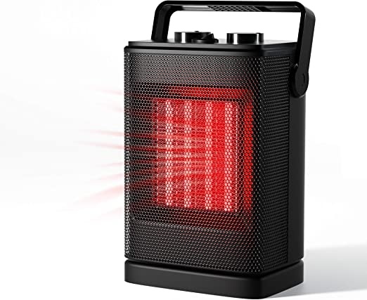 Amazon Com Portable Space Heater Mini Electric Heater For Office