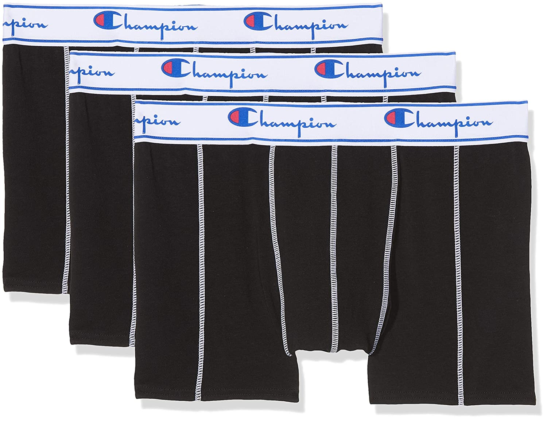 Champion Coton Bóxer (Pack de 3 para Hombre