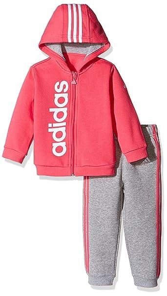 adidas Kinder Style Hooded Jogginganzug