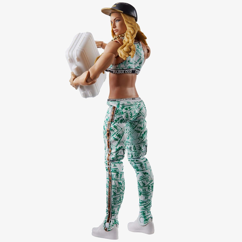 WWE Fan Central Elite Collection Carmella Posaeable Action Figure
