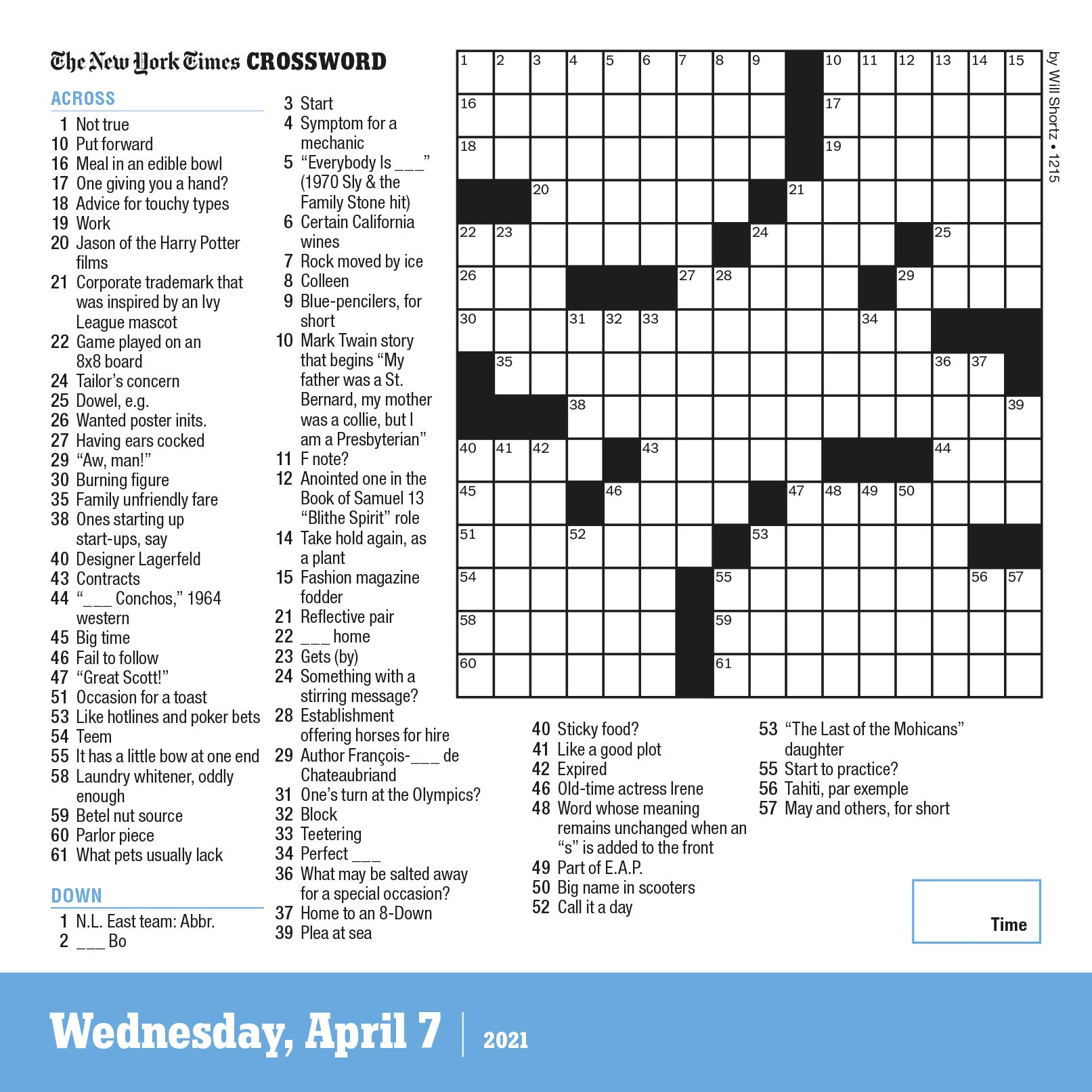 The New York Times Daily Crosswords Page A Day Calendar For 2021 Shortz Will Workman Calendars 9781523511303 Amazon Com Books