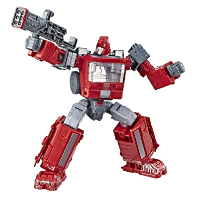 Transformers Toys Generations War for Cybertron Deluxe Wfc-S21 Ironhide Action Figure - Siege Chapter - Adults & Kids Ages 8 & Up, 5: Toys & Games