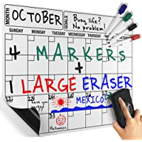 Cameron Frank Products Magnetic Dry Erase Calendar Board