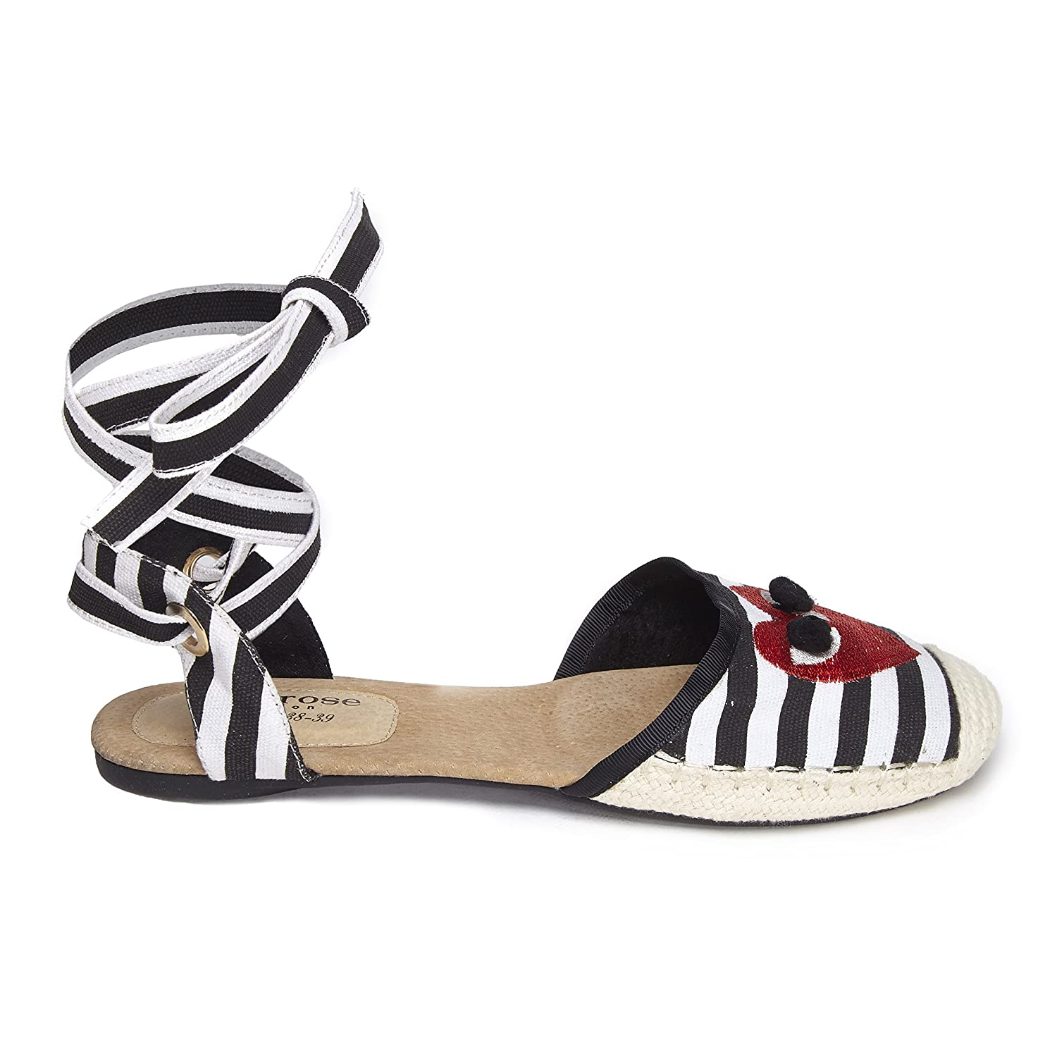 Carnaby Ladies Espadrilles Cocorose Foldable Shoes