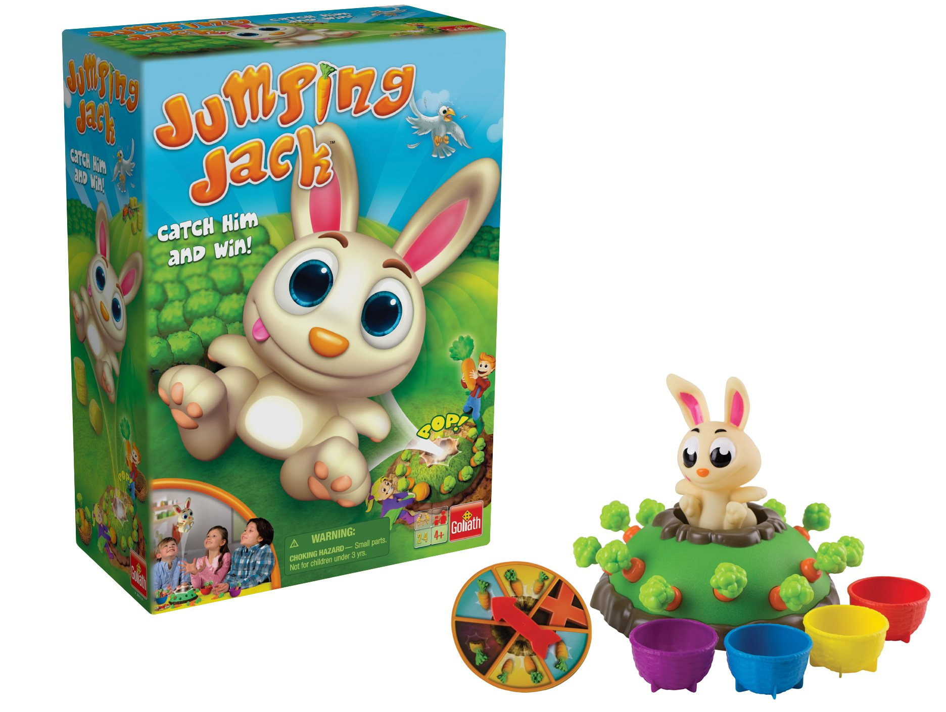Jumping Jack — Pull Out a Carrot and Watch Jack Jump Game by Goliath Games (Image #1)