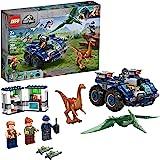 LEGO Jurassic World Gallimimus and Pteranodon Breakout 75940, Dinosaur Building Kit for Kids, Featuring Owen Grady, Claire De