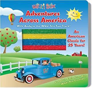 product image for WikkiStix Adventures Across America Interactive Board Book