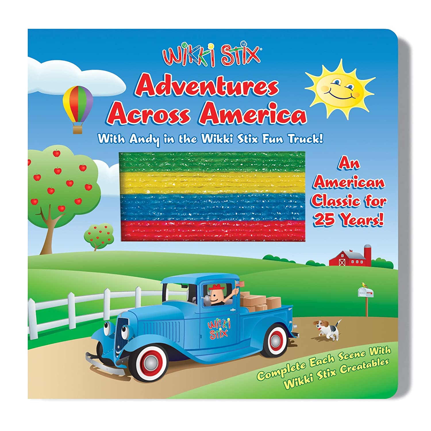 WikkiStix Adventures Across America Interactive Board Book