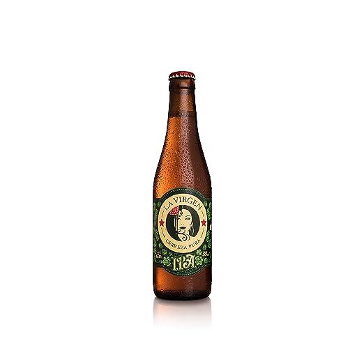 La Virgen Cerveza Artesana IPA - pack 24 botellas x 330 ml - Total: 7920 ml